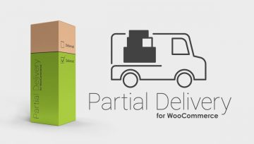 Ship parts of an order in WooCommerce